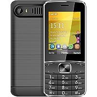 Kivors Smartphone Senior Teléfono Móvil T3 Dual SIM Mobile con Teclas Iluminadas y SD Tarjetas Características de Expansión para Personas Mayores (Negro)