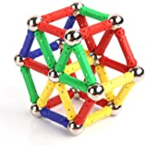 ToySharing Magnetic Sticks and Balls Building Toy Set of 136
