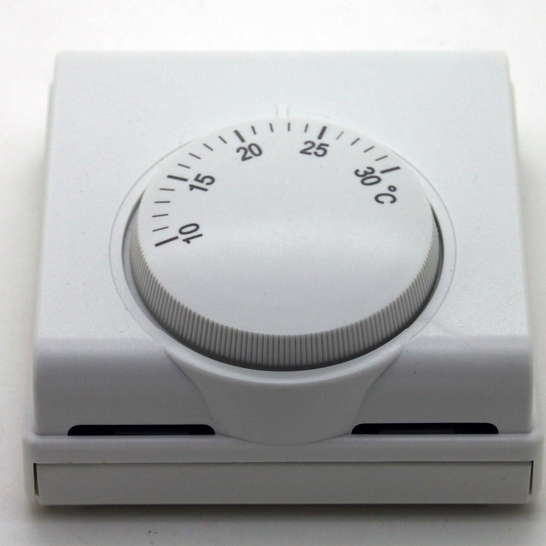 Thermostat mé canique de salle 220 V 6 A de Langir, commutateur arrê t/marche, contrô leur central de la tempé rature de climatisation pour la maison LANGIR Electric Co. Ltd.