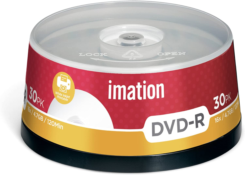 Imation i22373 - Pack de 30 DVD -R, 4.7 GB, 16X: Amazon.es: Informática