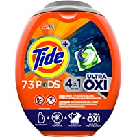 3 Pack 73-Count Tide Ultra Oxi Liquid Laundry Detergent Pacs