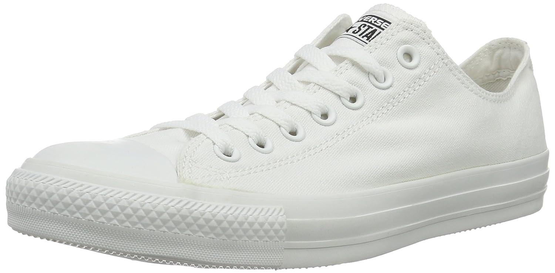 Converse Unisex-Erwachsene CTAS Seasonal-OX-White Monochrome Sneaker  44 EU|Wei? (Monocrom)