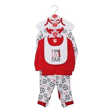 33c02c5cf52 Liverpool FC LFC Baby White Red Romper Body Cardigan Leggings Hat ...