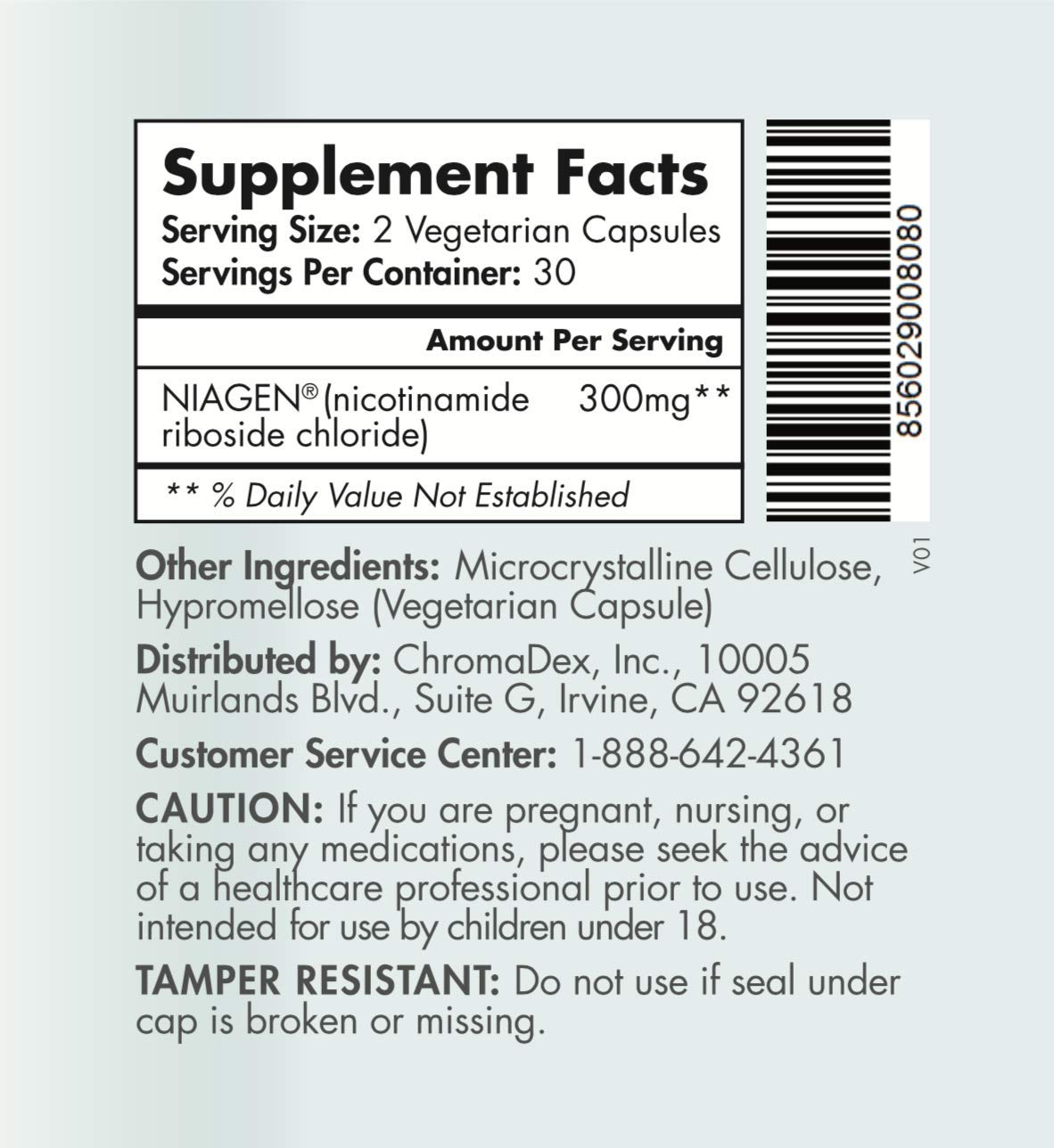 TRU NIAGEN - Increased 300mg   Nicotinamide Riboside NR   Advanced NAD+ Booster for Next-Level Cellular Repair & Increased Energy   Vitamin B3 by TRU NIAGEN (Image #7)