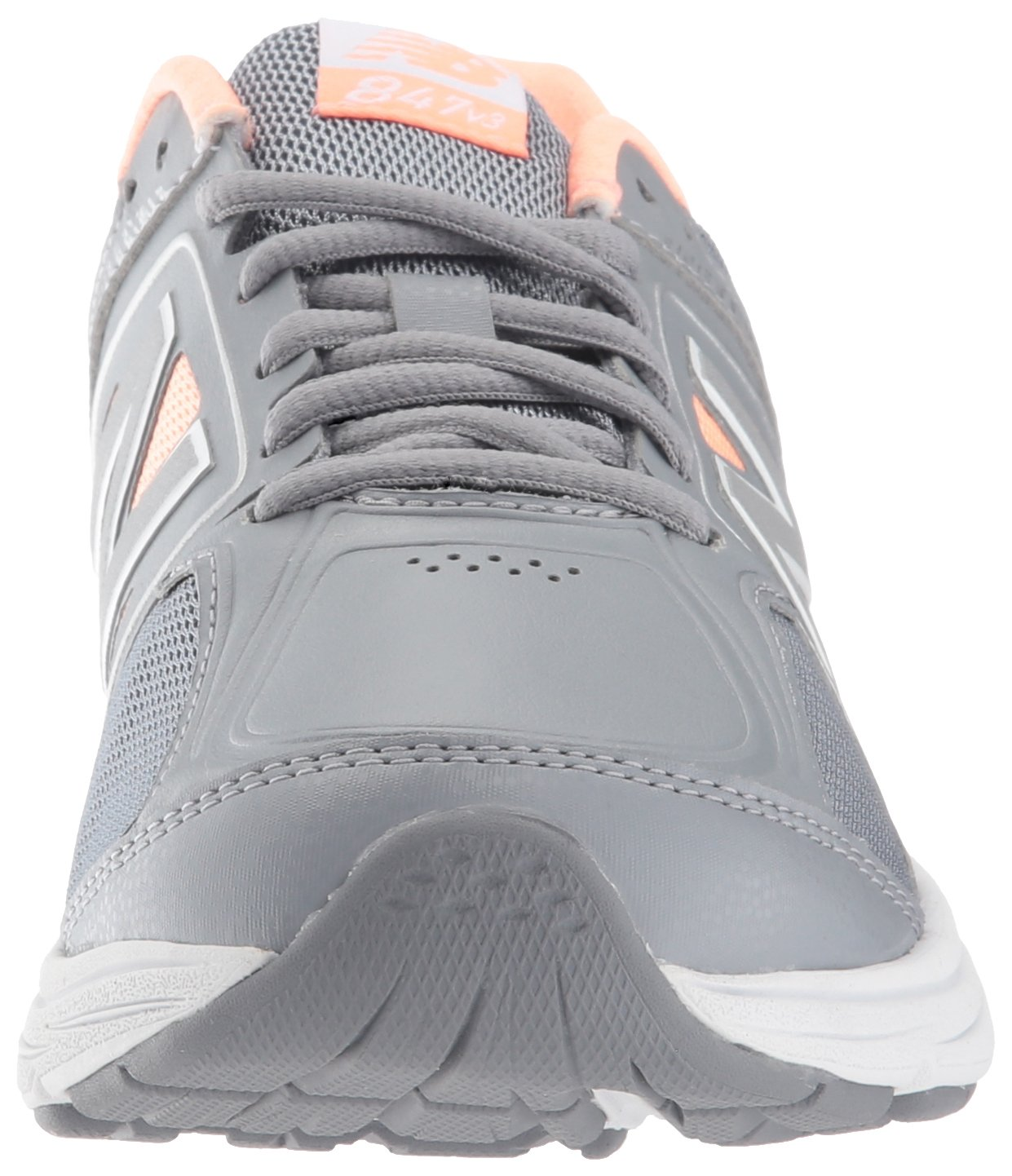 New Shoe Balance Women's 847v3 Walking Shoe New B01N97AP9M 8.5 B(M) US|Grey/Pink 141a7a