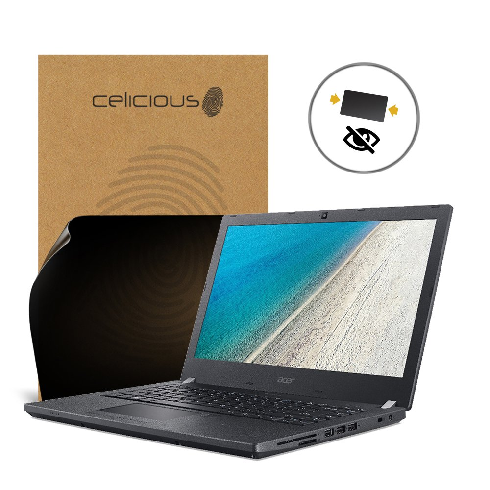 Celicious Privacy 2-Way Anti-Spy Filter Screen Protector Film Compatible with Acer TravelMate P4 TMP449-G2-M