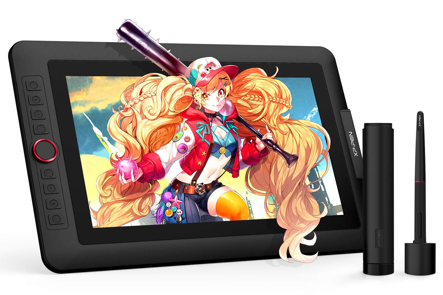 XP-PEN Artist13.3 Pro 13.3 Inch IPS Drawing Monitor Pen Display Full-Laminated Graphics Drawing Monitor with Tilt Function and 8 Shortcut Keys (8192 Levels Pen Pressure, 123% sRGB) by XP-PEN