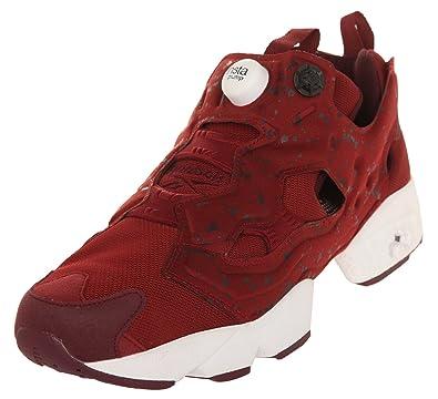 7f36c21d6 Reebok Herren Sneakers Instapump Fury SP Merlot/Dark Red/White AQ9802,  Groesse EUR
