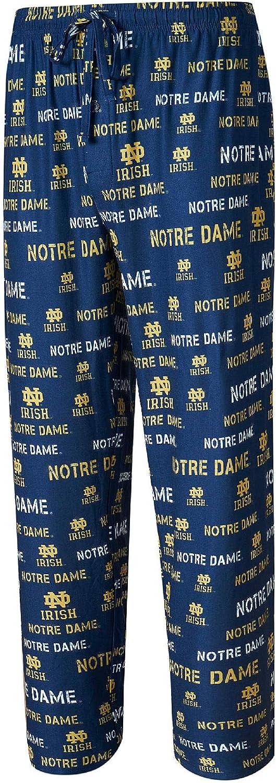Concepts Sports NCAA メンズ ブルー ミッドフィールド 合成パジャマパンツ Notre Dame Fighting Irish 青 WAISTSIZE L=34/35