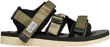b77426b36a2e Suicoke Women s OG044V004 Green Polyester Sandals