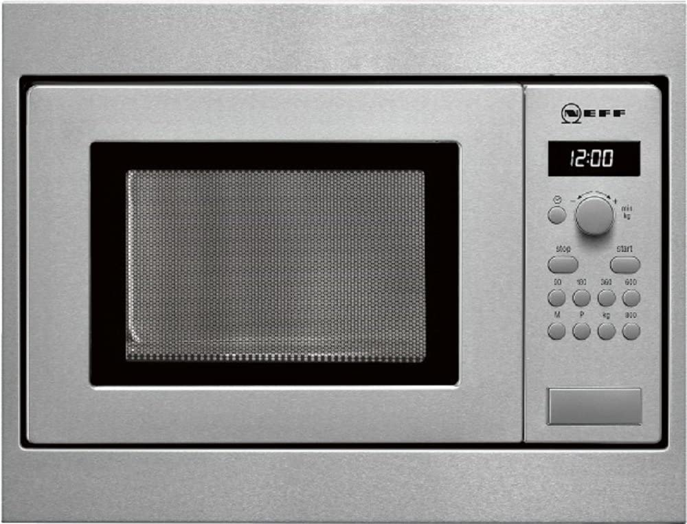 Neff HW 5350 N - Microondas sencillos, 800 W, 17 l, color gris