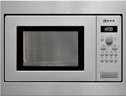 Neff Hw5350n Mikrowelle Aus Edelstahl 800 Watt Amazon De Elektro