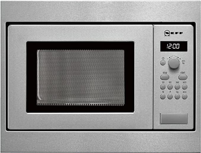 Neff HW 5350 N - Microondas sencillos, 800 W, 17 l, color gris ...