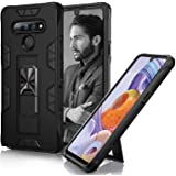 Toplive Compatible with LG Stylo 6 Case, Stylo 6 Phone Case Built-in [Kickstand] Magnetic [Car Mount] 2 in 1 Armor Shockproof