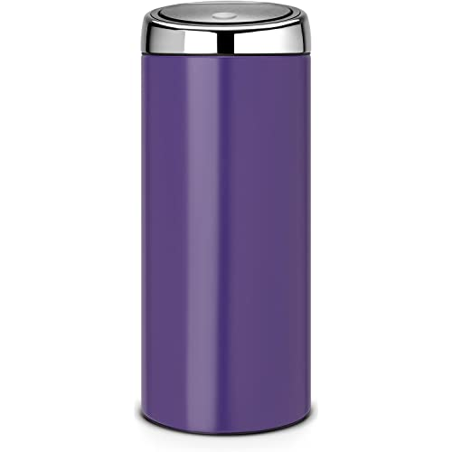Brabantia 30 Litre Soft Touch Bin - Purple