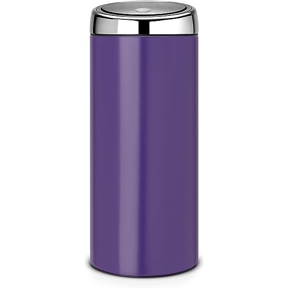 Brabantia 30 Litre Soft Touch Bin - Purple