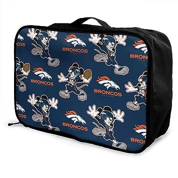12c26e1c8f9c Amazon.com | Aoskin Denver Broncos Cartoon Fashion Lightweight Large ...