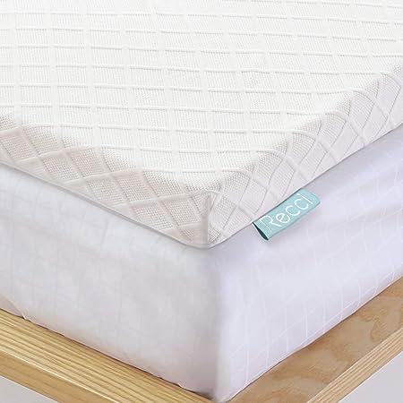 Materassi Con Memory Foam.Recci Topper Memory Foam 6cm Topper Materasso Per Alleviare