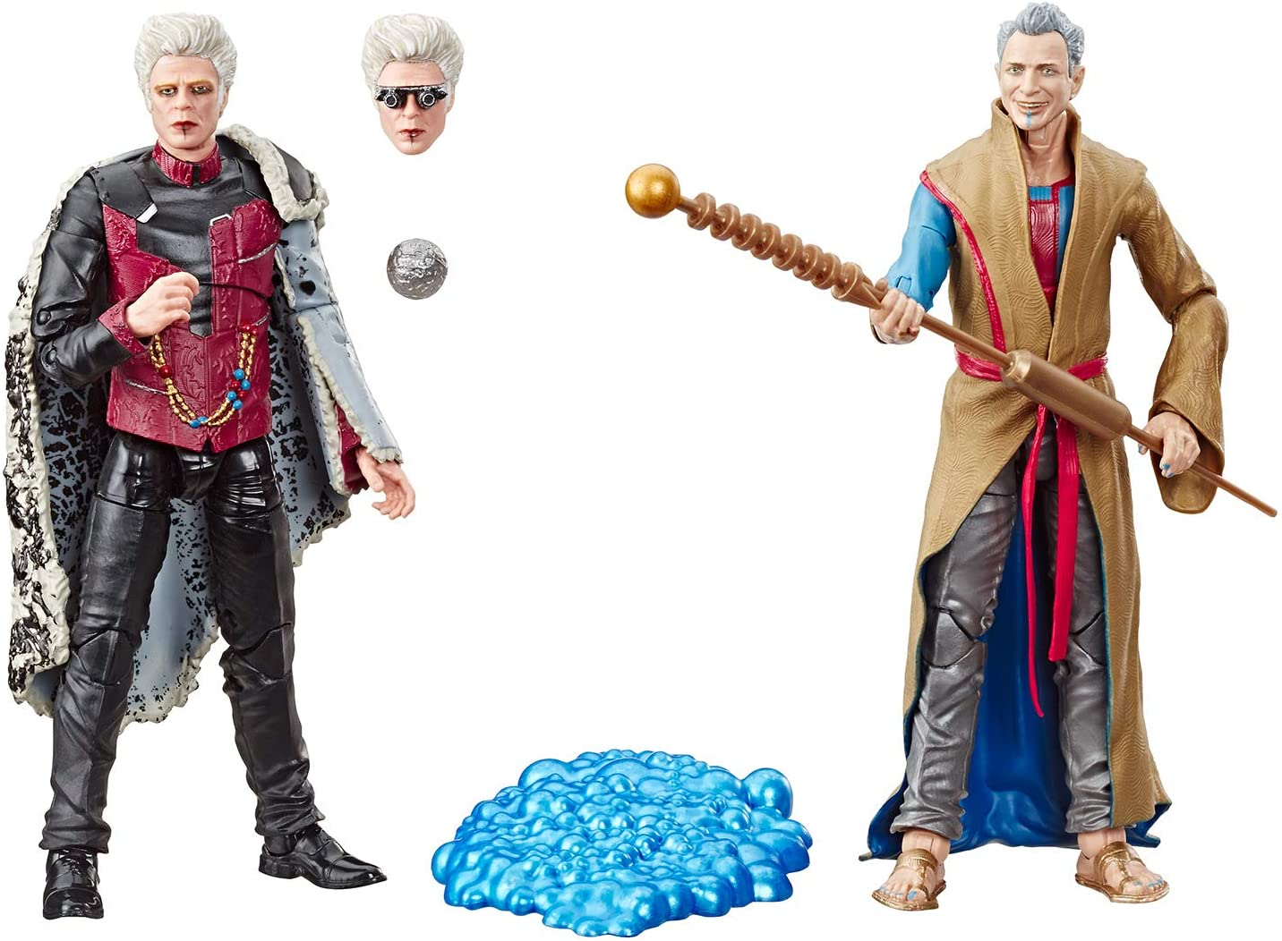 """Marvel Legends 6/"""" Grandmaster and The Collector  SDCC 2019 Exclusive IN STOCK!"""