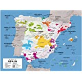 spain and portugal national geographic adventure map