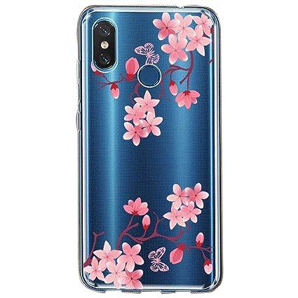 Amazon.com: Funda para Xiaomi Mi 8se, carcasa delgada de ...