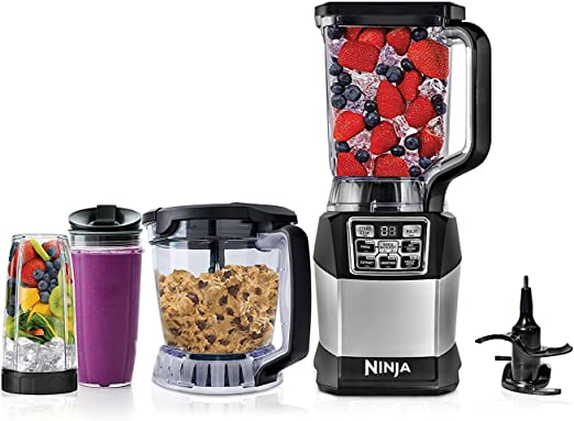 Amazon.com: Ninja Kitchen System con Auto-iQ Boost (BL494 ...