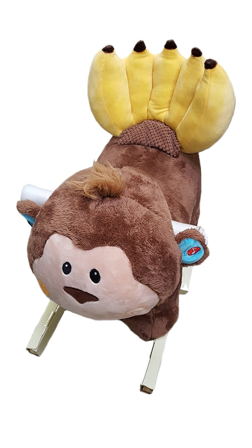 Hug Fun Musical Animal Rocker Rider Monkey by Hugfun