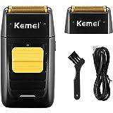 KEMEI Professional Electric Razor for Men Electric Foil Shaver Foil Lithium Titanium Foil Shaver Beard Trimmer Cordless…