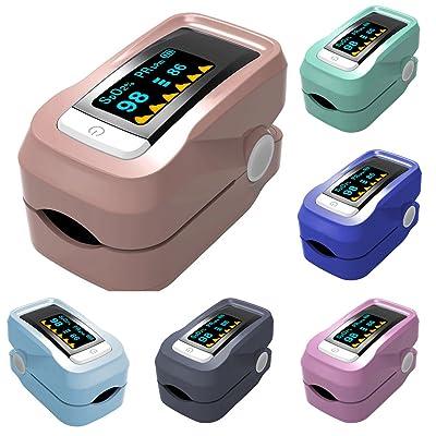 Yeshi Pro Mètre oxygène Oxymètre de sang SPO2écran LED Pulse moniteur de fréquence cardiaque pour les hôpitaux, bar à oxygène, sport, Santé, communauté