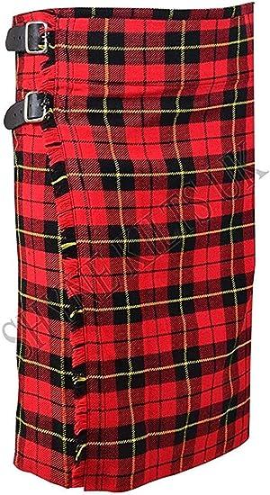 SHYNE KILTS U.K - Falda - falda escocesa - Hombre: Amazon.es ...