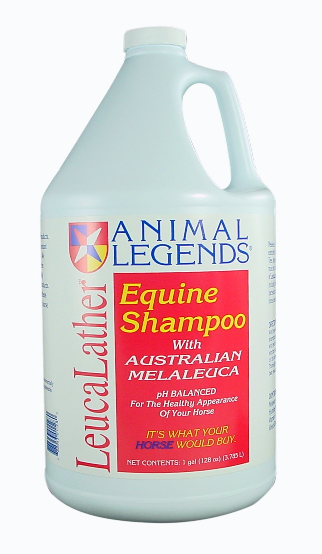 Miracle Care Animal Legends Leuca Lather Equine Shampoo, 1-Gallon