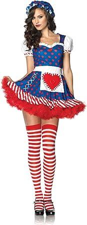 Leg Avenue - Disfraz de cabaret para mujer, talla UK 12 ...
