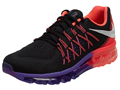 c4227b98cb Nike Airmax 2015 Black/Red/Purple Running Shoes for Womens 698903-011: Buy  Online at Low Prices in India - Amazon.in
