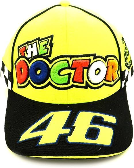 Valentino Rossi VR46 Moto GP The Doctor Amarillo Gorra Oficial ...