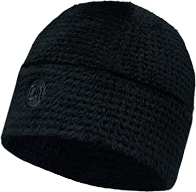 Buff Solid Gorro Forro Polar Térmico, Mujer, Black, Única: Amazon ...