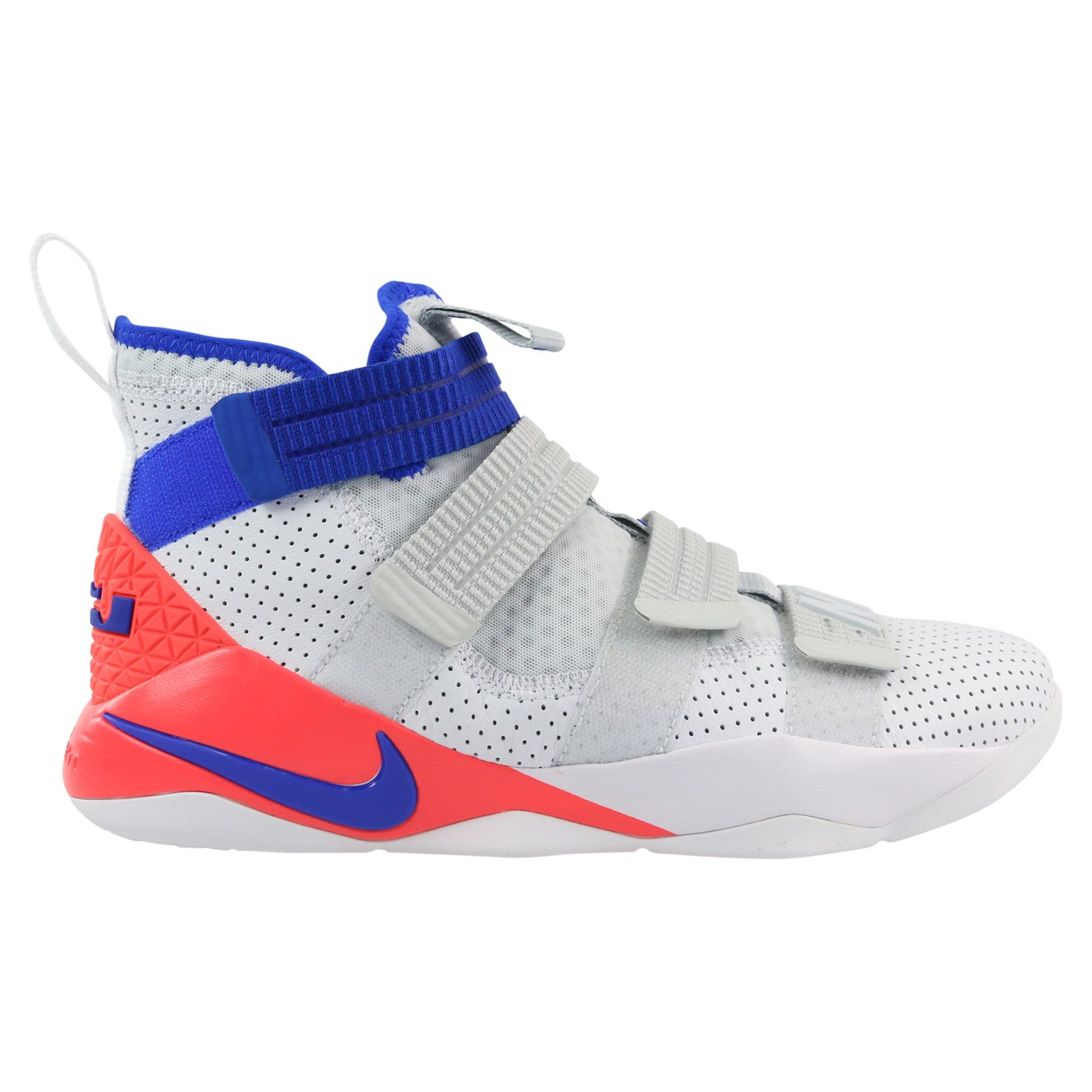 low priced 11b7e 1372d Amazon.com   Nike Lebron Soldier 11 SFG Ultramarine Mens Basketball-Shoes  897646-101 14 - Grey   Basketball