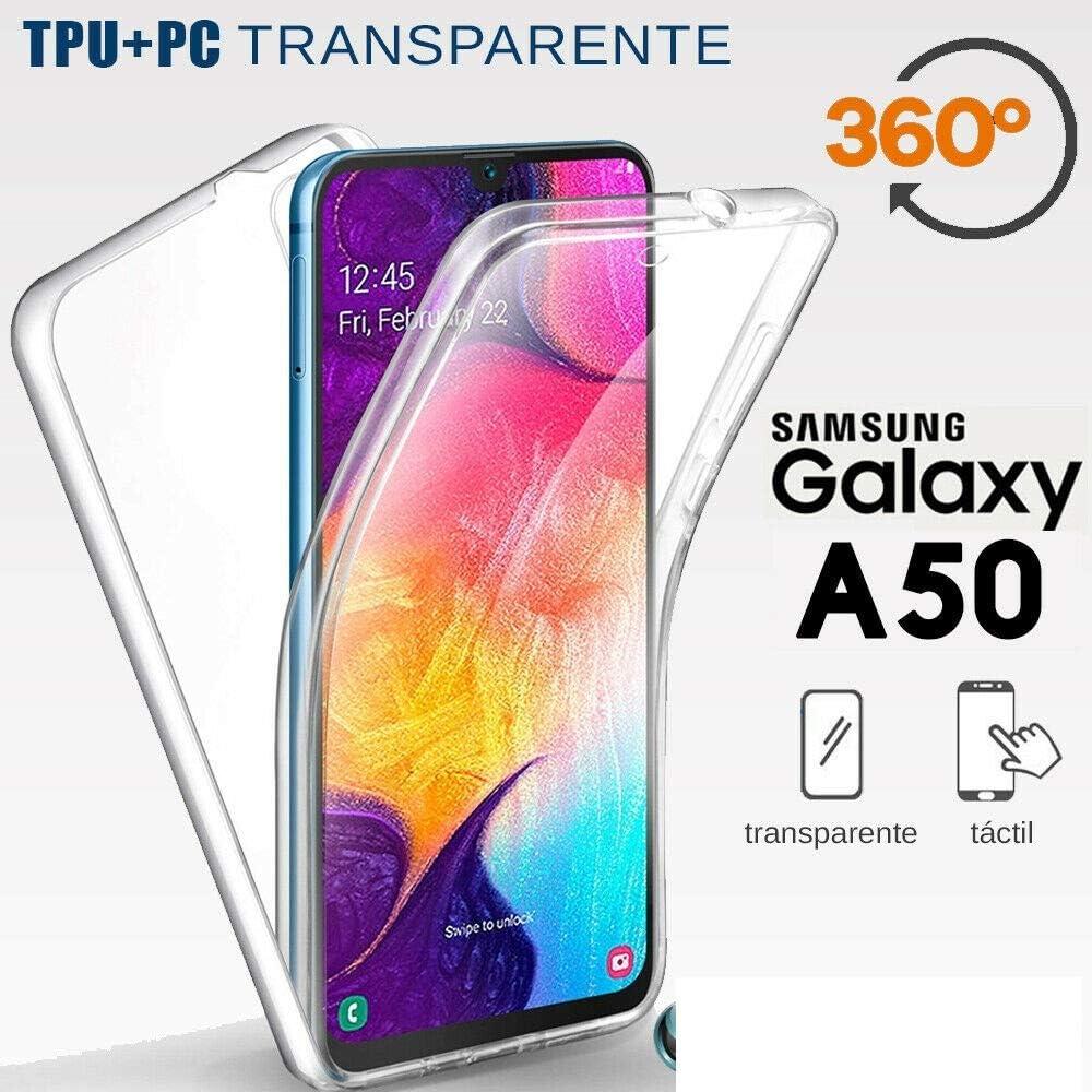 Funda Gel TPU Dura Doble Cara 360º TACTIL para Samsung Galaxy A50 ...