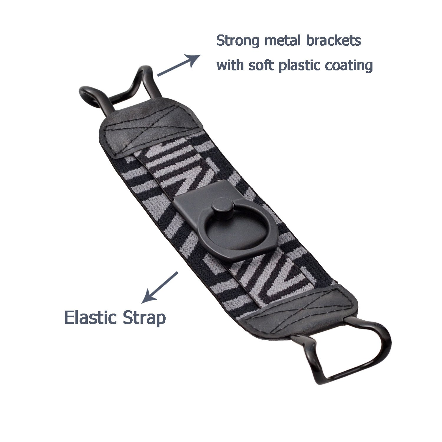 Kindle Voyage TFY Security Hand Strap with 360/°Rotation Metal Ring Finger-Grip Holder /& Stand for Kindle E-readers Kindle Paperwhite Kindle HD 6