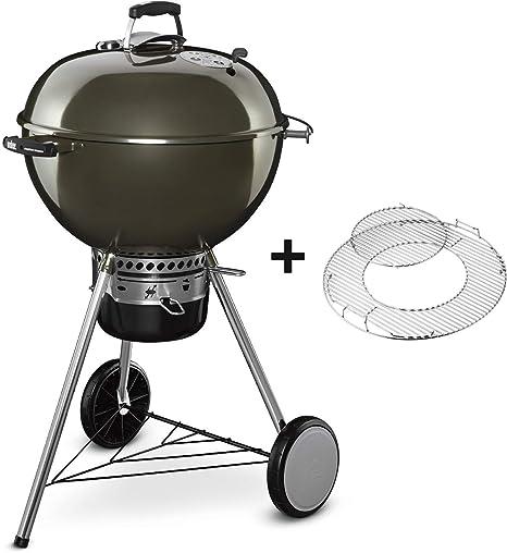 Weber Master-Touch GBS - Barbacoa Ø 57 cm, parrilla GBS, 2 cestas de carbón, gris humo