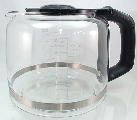 yourstorefront 14-cup cafetera, jarra de vidrio de repuesto para ...
