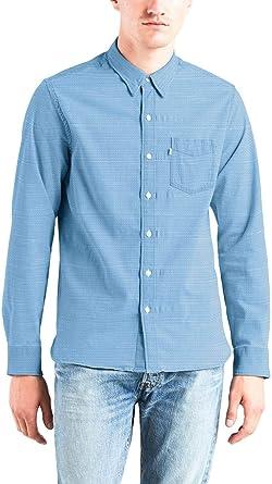 Camisa Levis Sunset Indigo Hombre S Azul: Amazon.es: Ropa y accesorios