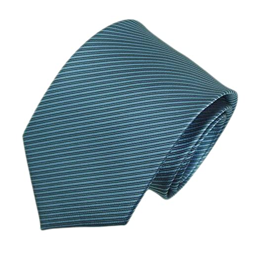 f6fcac390499 Image Unavailable. Image not available for. Color: KXP Mens Party Slim Fit Tie  Solid Color Skinny Britain Groom Necktie Light Blue ...