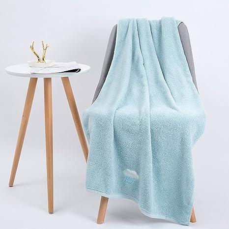 WSQ Toalla de Baño de Algodón Adulto Suave Engrosamiento Súper Absorbente Aumentar el Lavado de Toallas