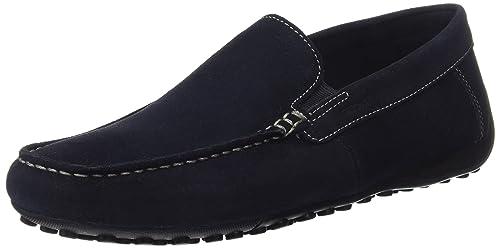 Geox Uomo Snake Mocassino B, Mocasines para Hombre: Amazon.es: Zapatos y complementos