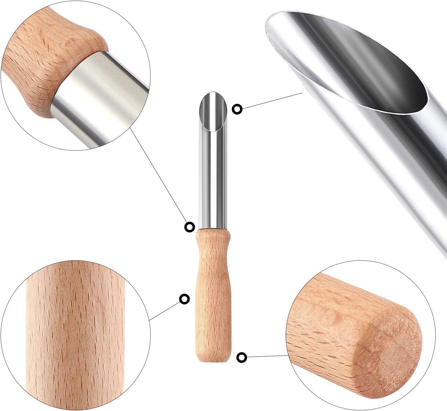 professionnels et enfants Coolty Lot de 4 outils de poterie pour d/ébutants