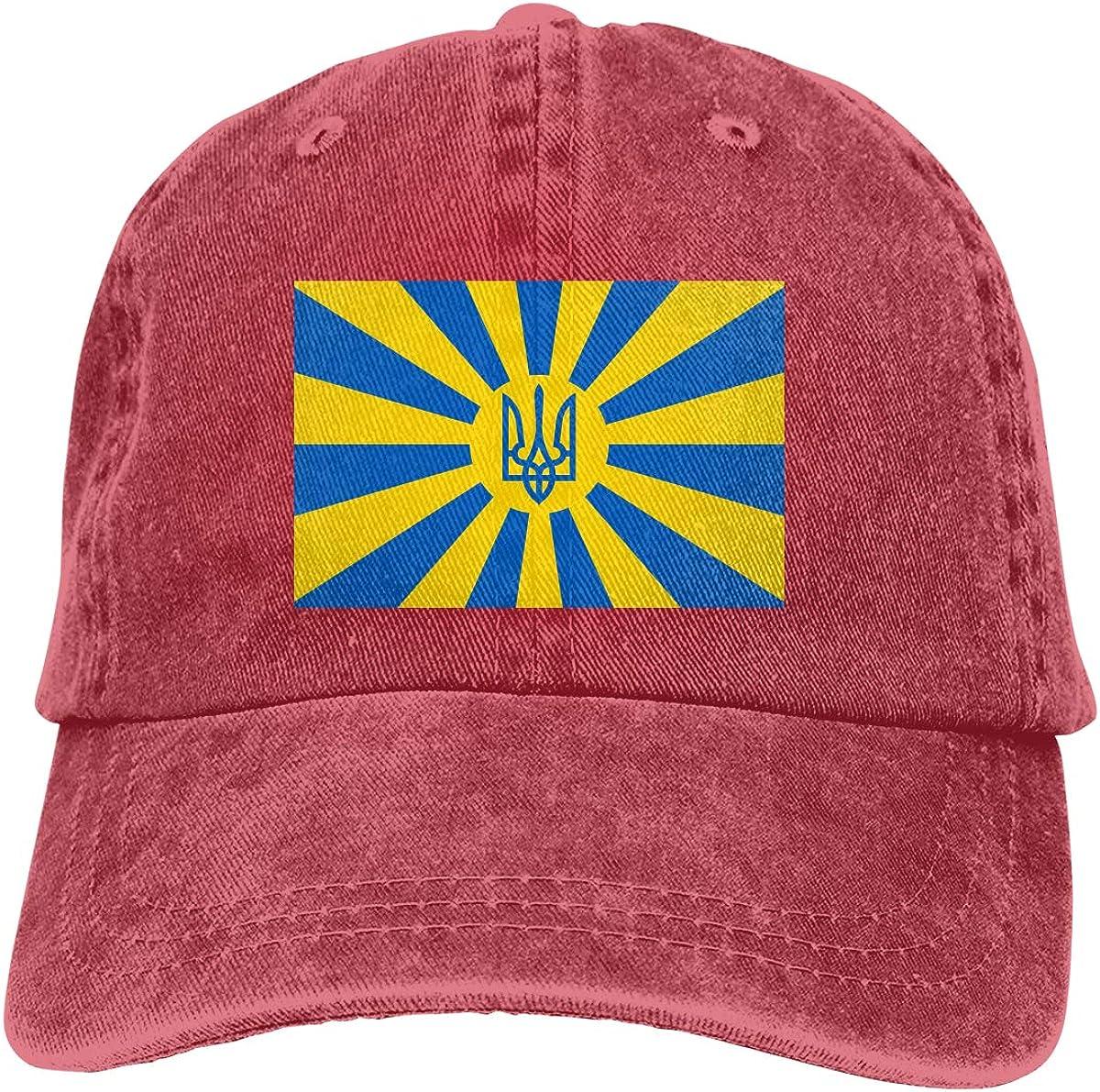 Cotton Hats Amayc Adjustable Mens Denim Baseball Caps Ukrainian Funny