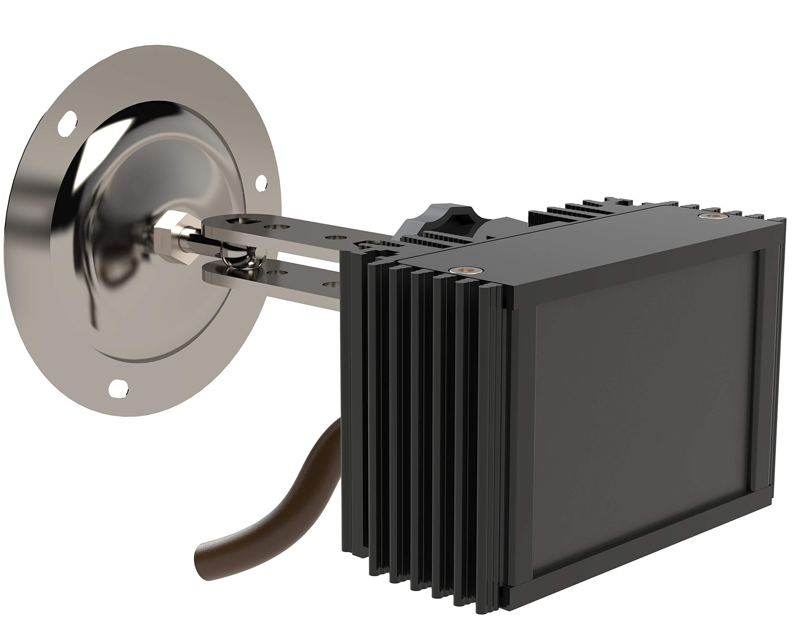 Infrared Illuminator Microlight IR Helios S-90/30 90deg Wide Angle up to 70ft Night Vision Outdoor IP67 by Microlight