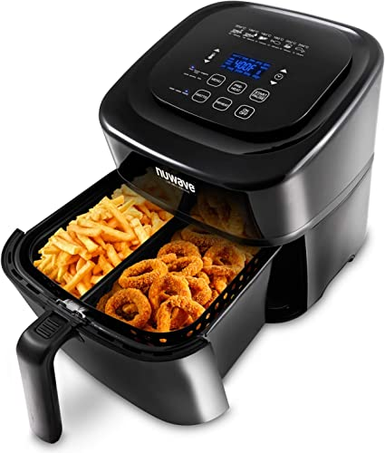 NUWAVE-BRIO-6-Quart-Digital-Air-Fryer-with-one-touch-digital-controls