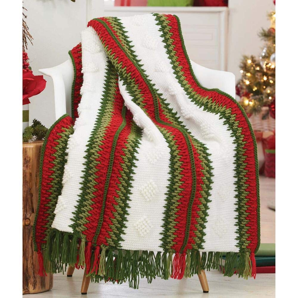Herrschners® Holiday Cheer Afghan Kit
