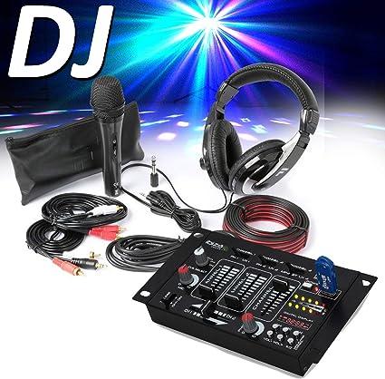 Fenton SH400 - Kit de accesorios para DJ (auriculares, micrófono ...